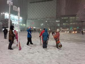 渋谷 大雪